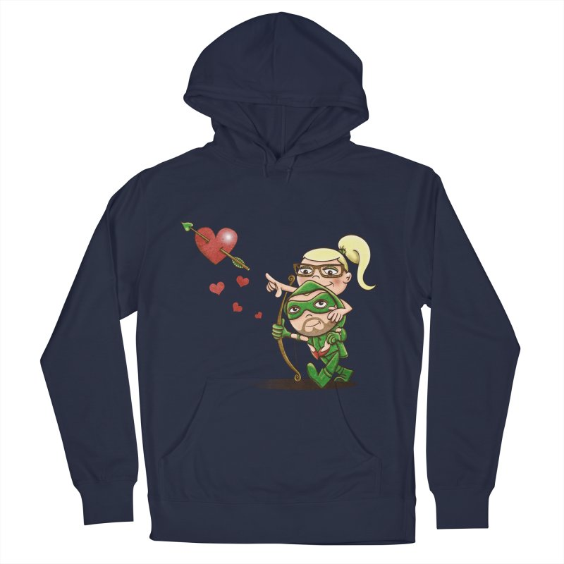 Shot through the Heart Men's Pullover Hoody by doodleheaddee's Artist Shop