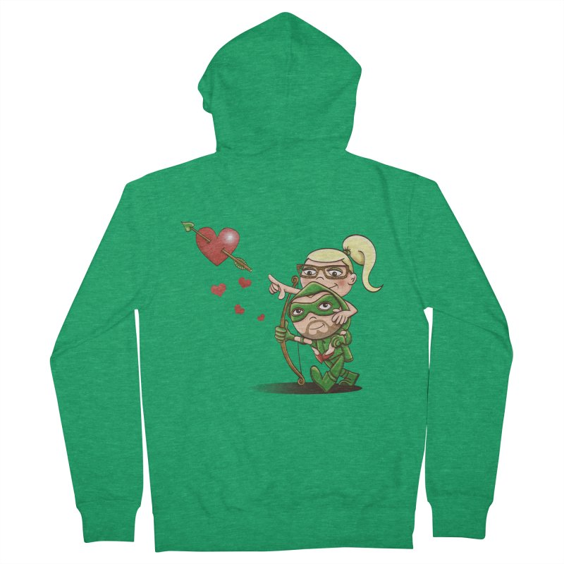 Shot through the Heart Women's Zip-Up Hoody by doodleheaddee's Artist Shop