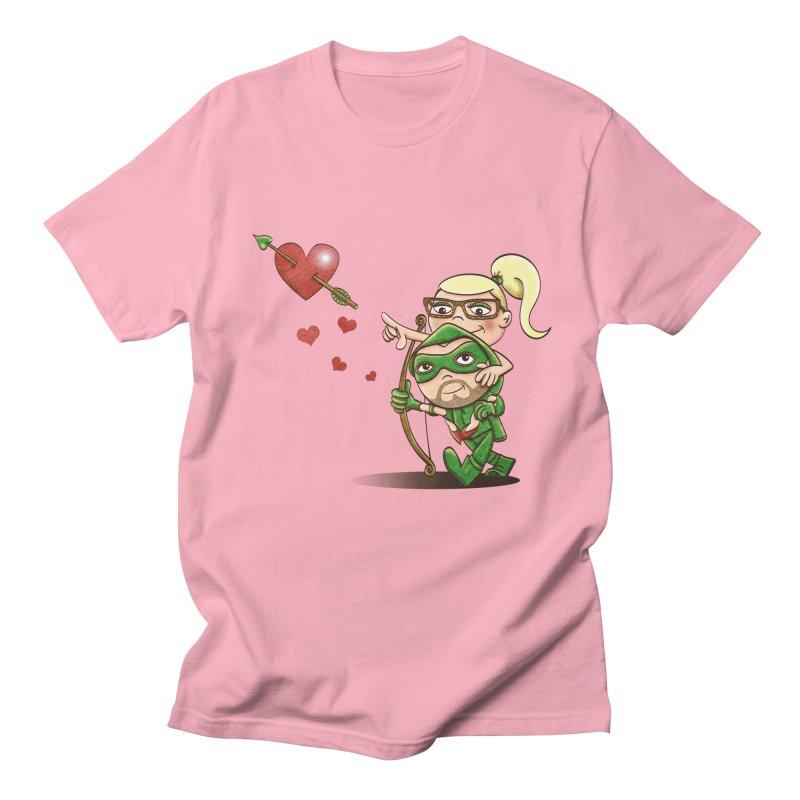 Shot through the Heart Men's T-shirt by doodleheaddee's Artist Shop