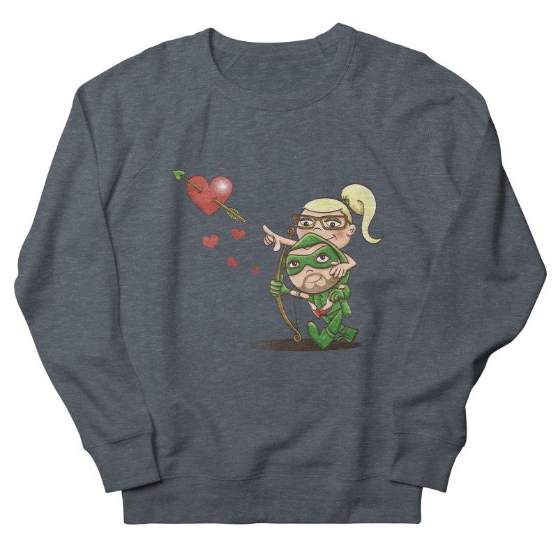 Shot through the Heart Women's French Terry Sweatshirt by doodleheaddee's Artist Shop
