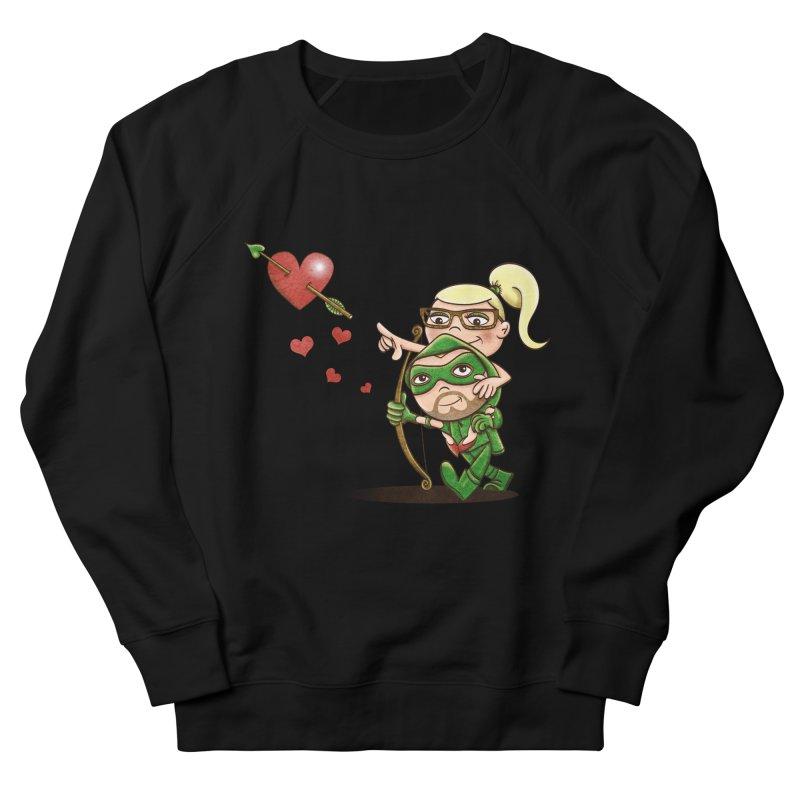 Shot through the Heart Men's Sweatshirt by doodleheaddee's Artist Shop