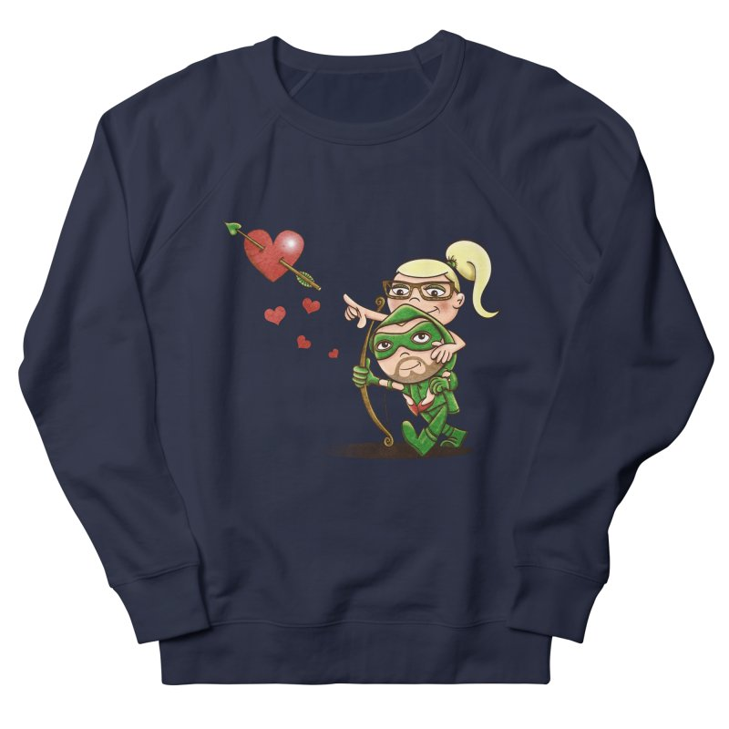 Shot through the Heart Men's Sweatshirt by doodleheaddee's Artist Shop