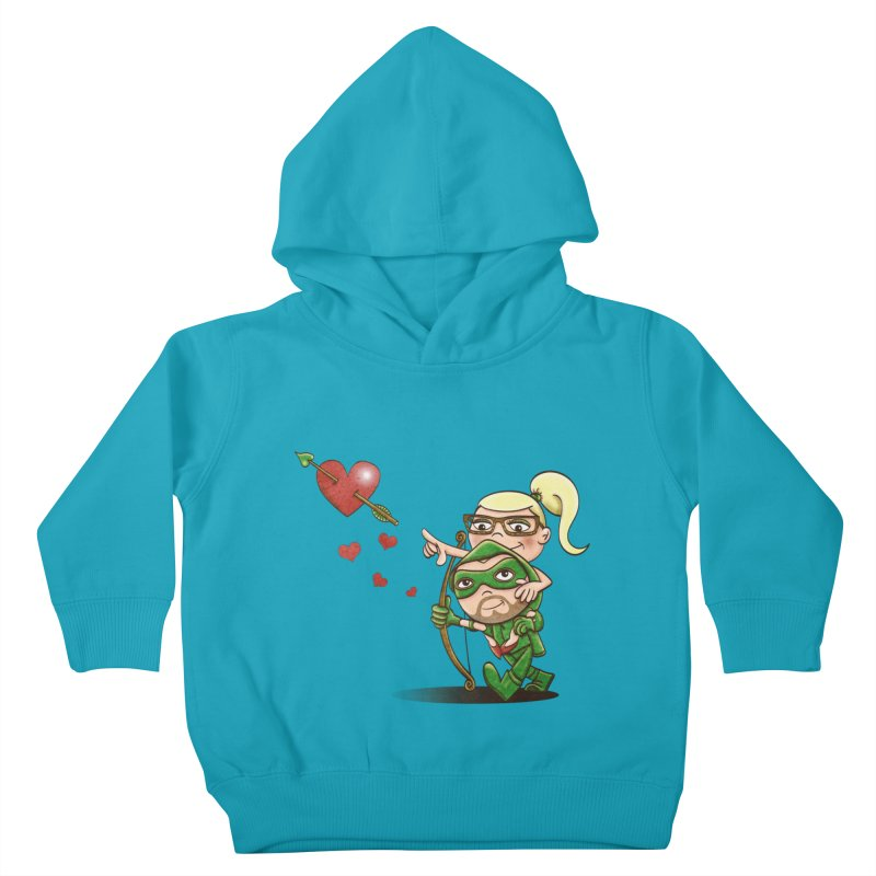 Shot through the Heart Kids Toddler Pullover Hoody by doodleheaddee's Artist Shop