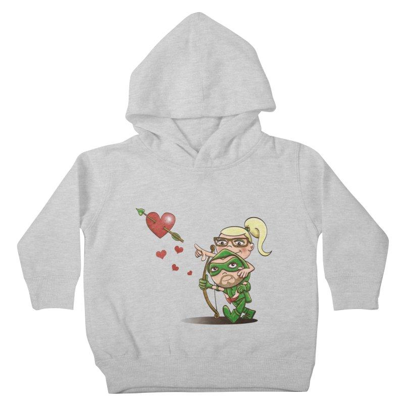 Shot through the Heart Kids Toddler Pullover Hoody by doodleheaddee's Artist Shop