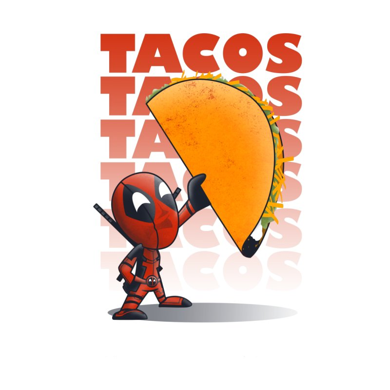 Tacos!!! Women's Baseball Triblend T-Shirt by doodleheaddee's Artist Shop
