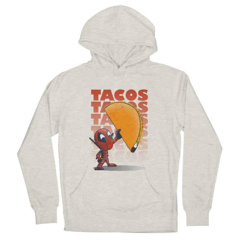 Tacos!!! Men's Pullover Hoody by doodleheaddee's Artist Shop