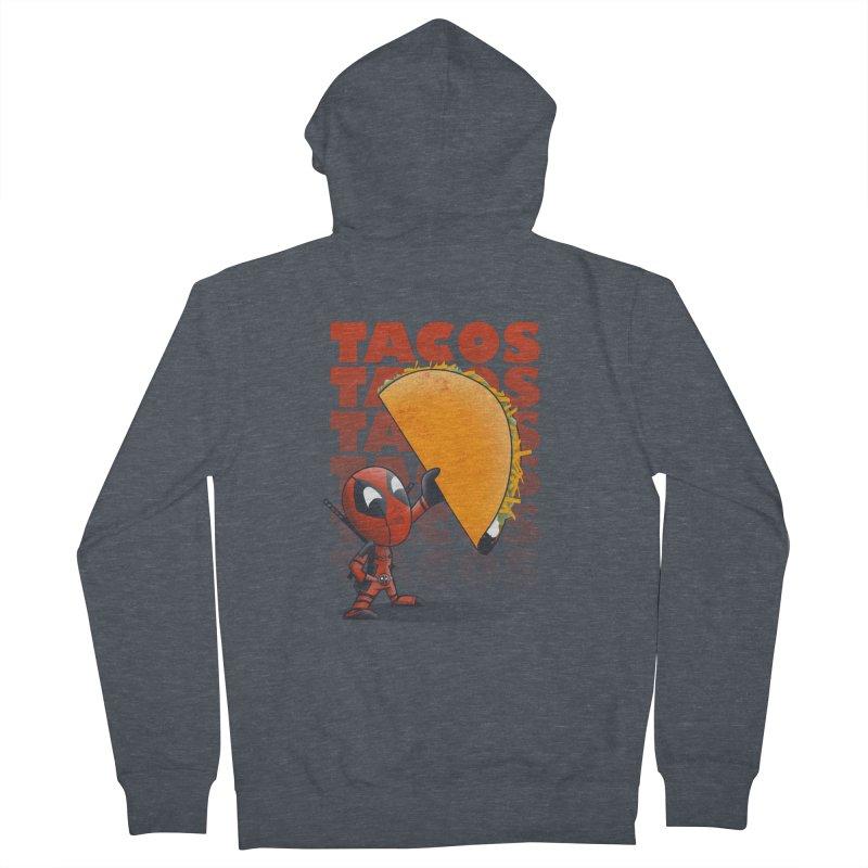 Tacos!!! Women's Zip-Up Hoody by doodleheaddee's Artist Shop