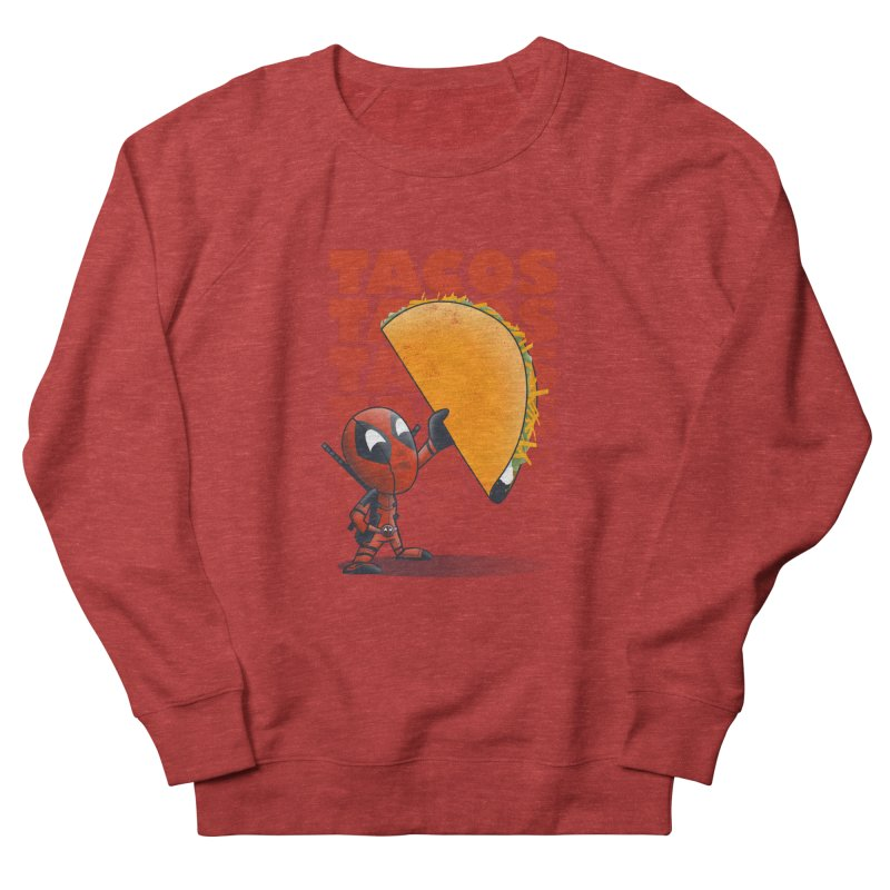 Tacos!!! Men's Sweatshirt by doodleheaddee's Artist Shop