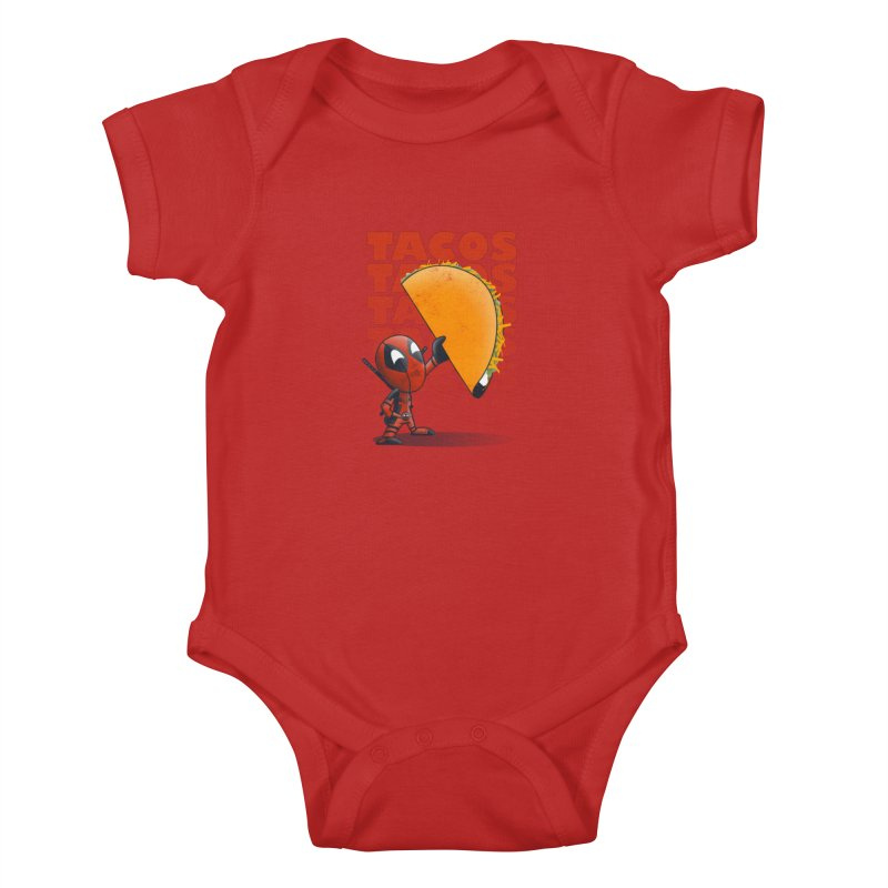 Tacos!!! Kids Baby Bodysuit by doodleheaddee's Artist Shop