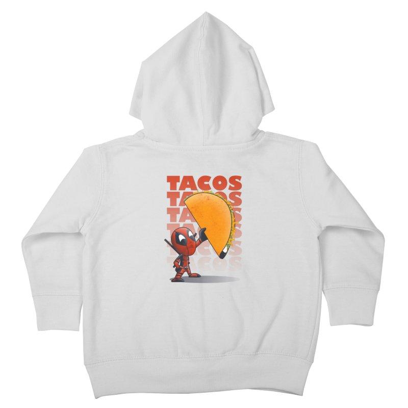 Tacos!!! Kids Toddler Zip-Up Hoody by doodleheaddee's Artist Shop