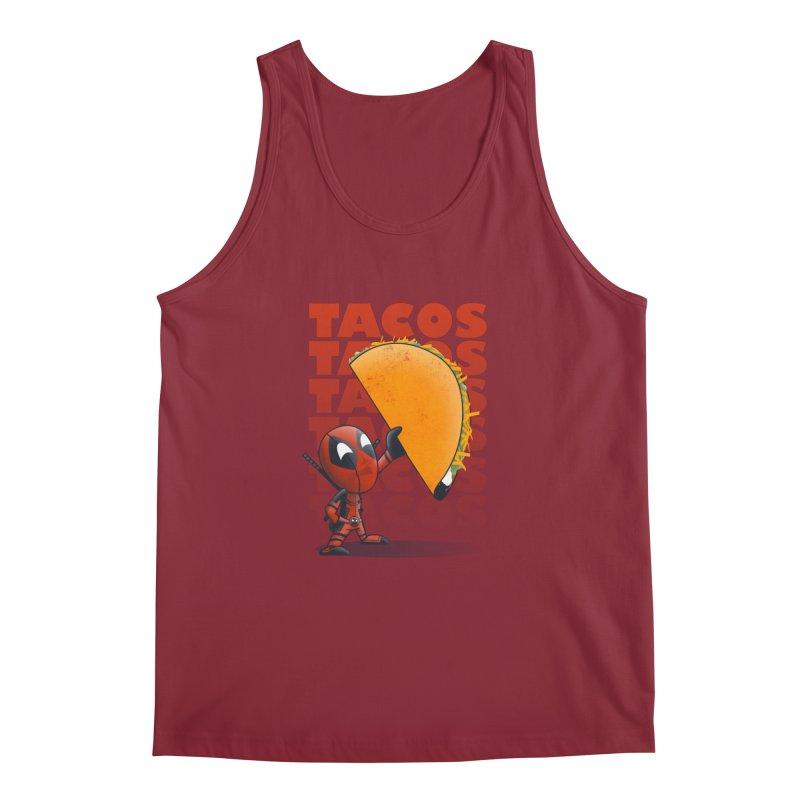 Tacos!!! Men's Regular Tank by doodleheaddee's Artist Shop