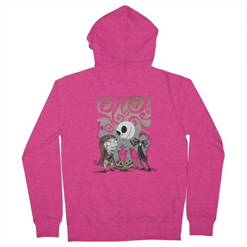 It's a Nightmare Kind of Love Women's French Terry Zip-Up Hoody by doodleheaddee's Artist Shop