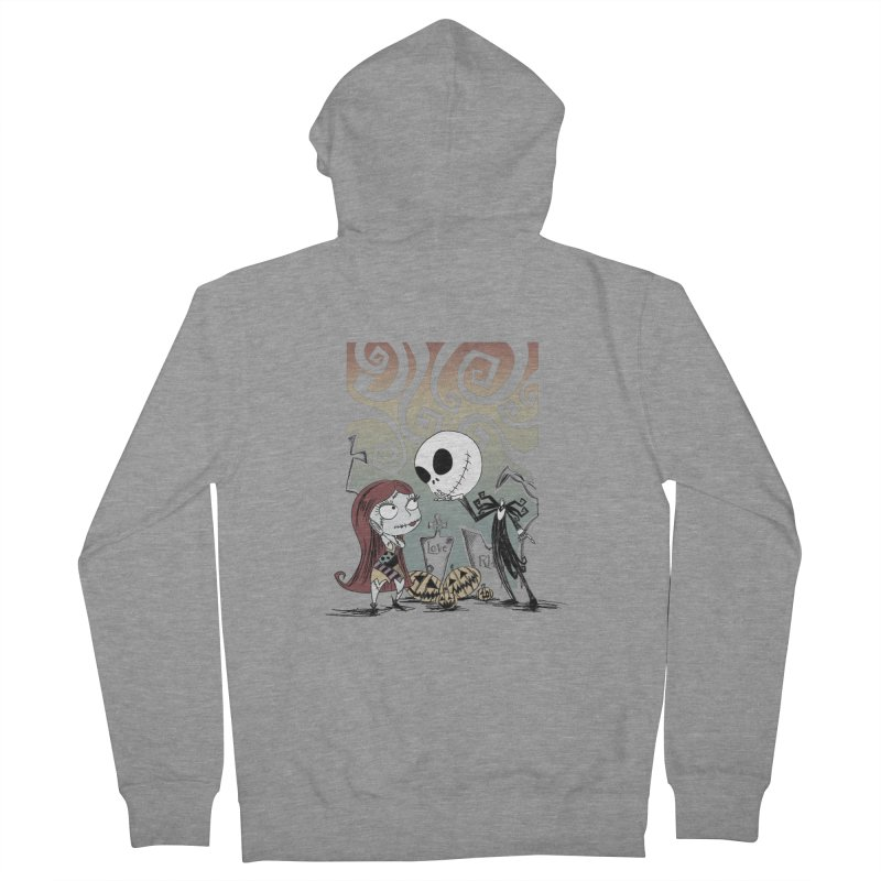 It's a Nightmare Kind of Love Men's French Terry Zip-Up Hoody by doodleheaddee's Artist Shop