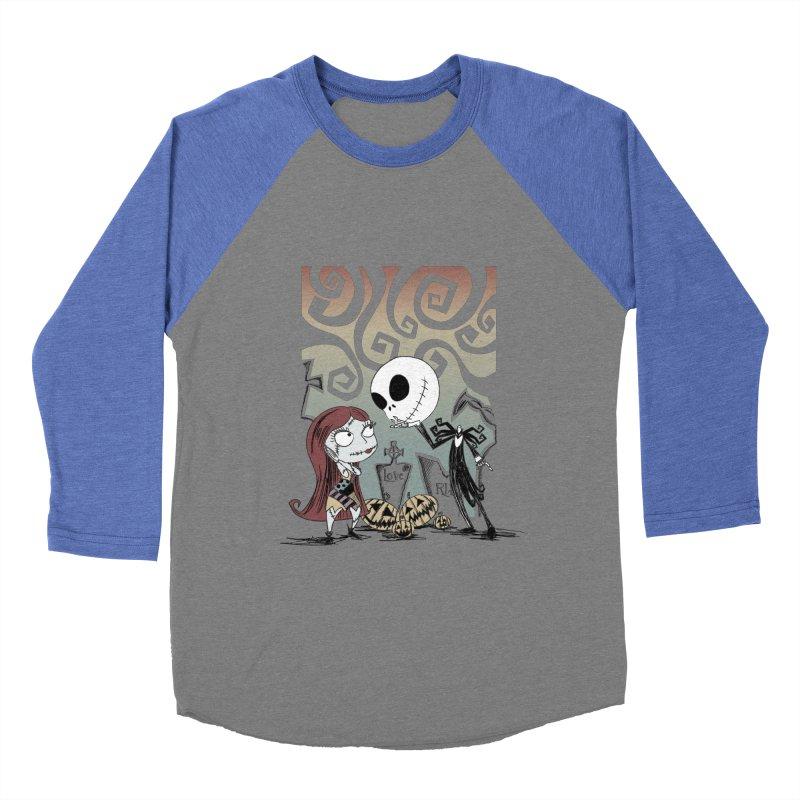 It's a Nightmare Kind of Love Men's Baseball Triblend T-Shirt by doodleheaddee's Artist Shop