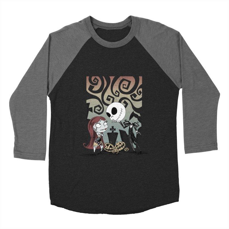 It's a Nightmare Kind of Love Men's Baseball Triblend Longsleeve T-Shirt by doodleheaddee's Artist Shop