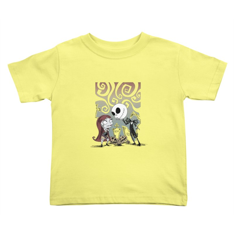 It's a Nightmare Kind of Love Kids Toddler T-Shirt by doodleheaddee's Artist Shop
