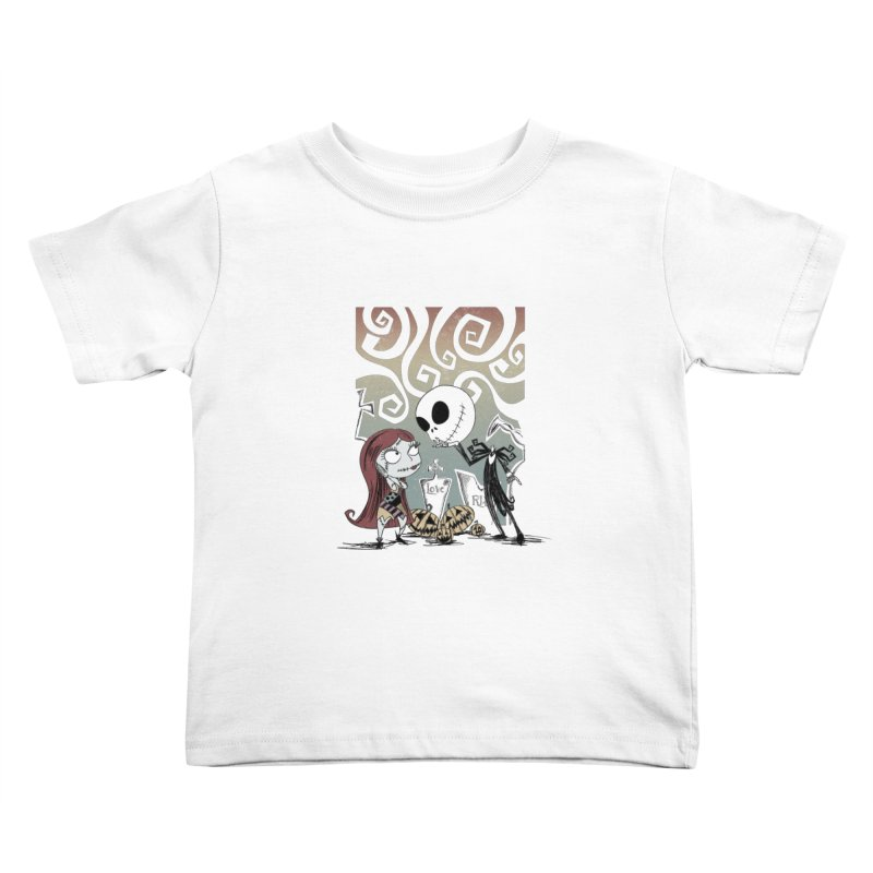 It's a Nightmare Kind of Love Kids Toddler T-Shirt by doodleheaddee's Artist Shop