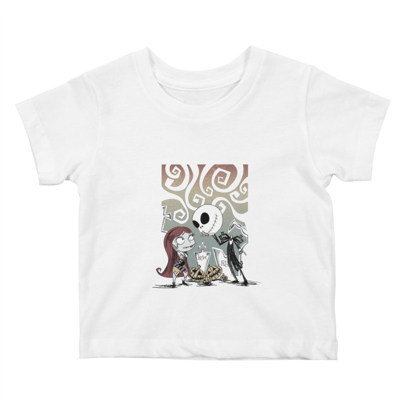 It's a Nightmare Kind of Love Kids Baby T-Shirt by doodleheaddee's Artist Shop