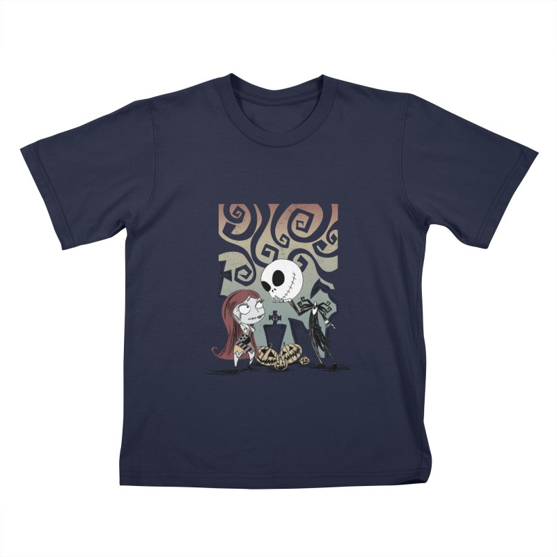 It's a Nightmare Kind of Love Kids T-Shirt by doodleheaddee's Artist Shop