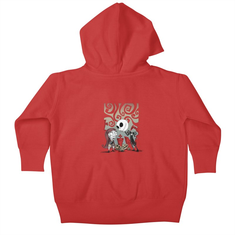 It's a Nightmare Kind of Love Kids Baby Zip-Up Hoody by doodleheaddee's Artist Shop