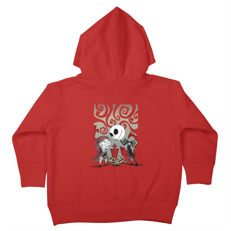 It's a Nightmare Kind of Love Kids Toddler Zip-Up Hoody by doodleheaddee's Artist Shop