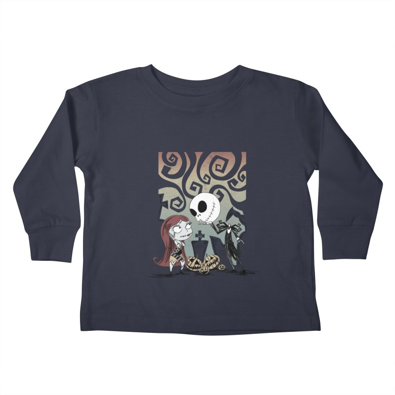 It's a Nightmare Kind of Love Kids Toddler Longsleeve T-Shirt by doodleheaddee's Artist Shop