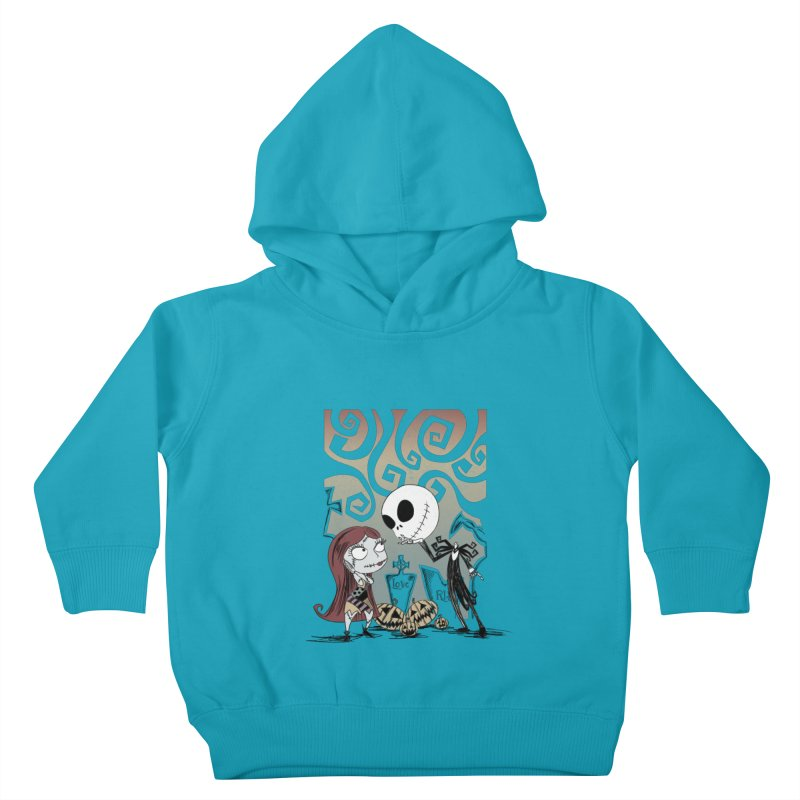 It's a Nightmare Kind of Love Kids Toddler Pullover Hoody by doodleheaddee's Artist Shop