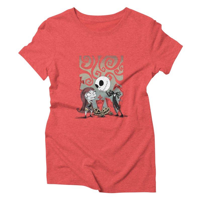 It's a Nightmare Kind of Love Women's Triblend T-shirt by doodleheaddee's Artist Shop
