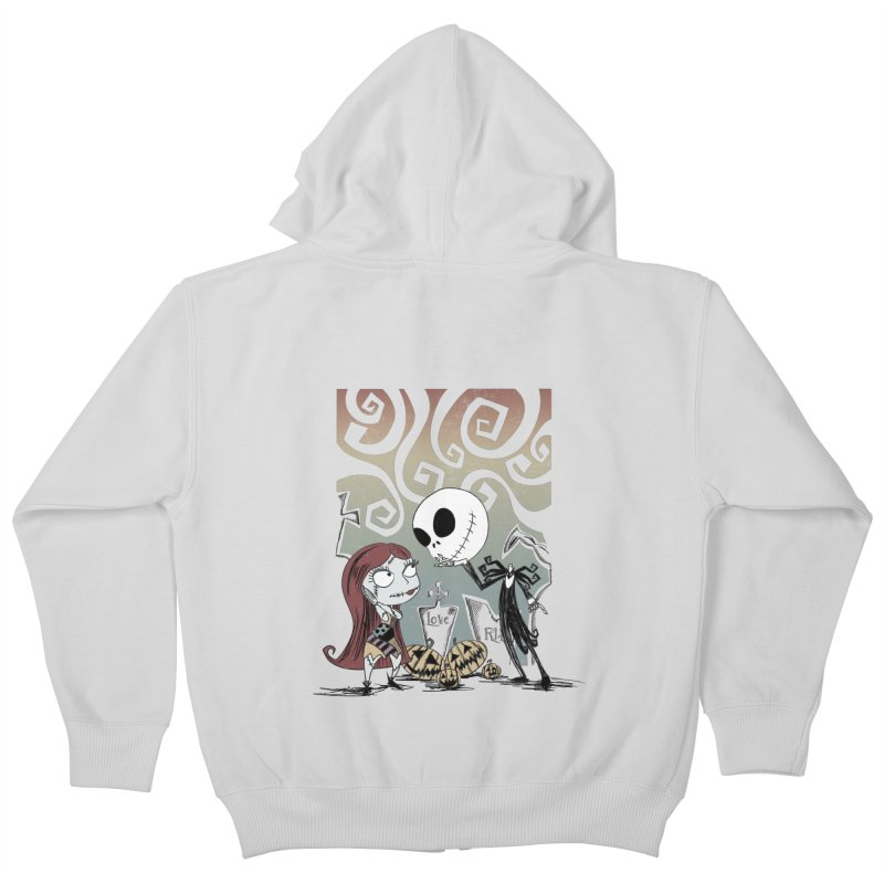 It's a Nightmare Kind of Love Kids Zip-Up Hoody by doodleheaddee's Artist Shop
