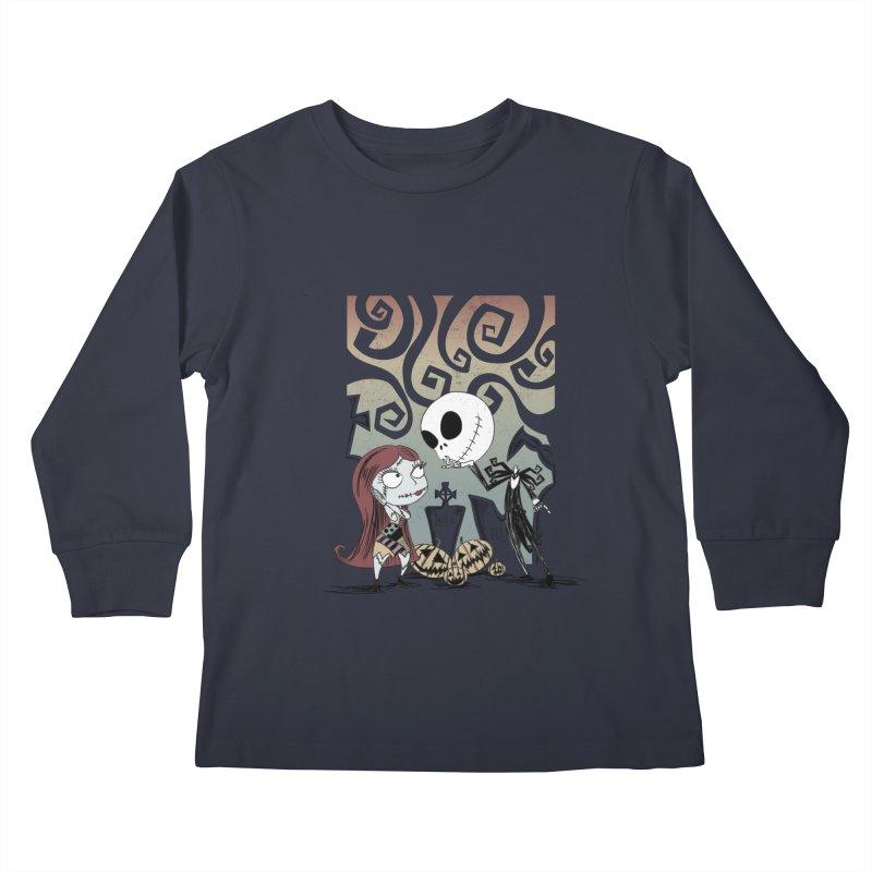 It's a Nightmare Kind of Love Kids Longsleeve T-Shirt by doodleheaddee's Artist Shop