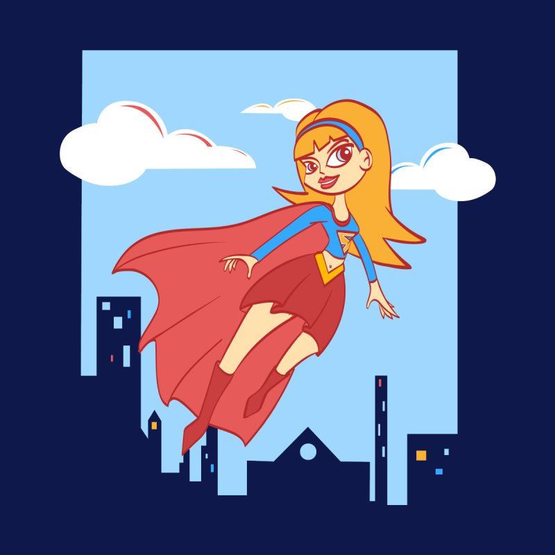 Be a Super Girl None  by doodleheaddee's Artist Shop