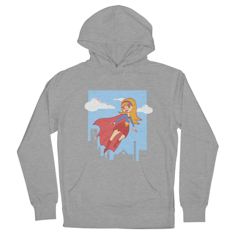 Be a Super Girl Women's Pullover Hoody by doodleheaddee's Artist Shop