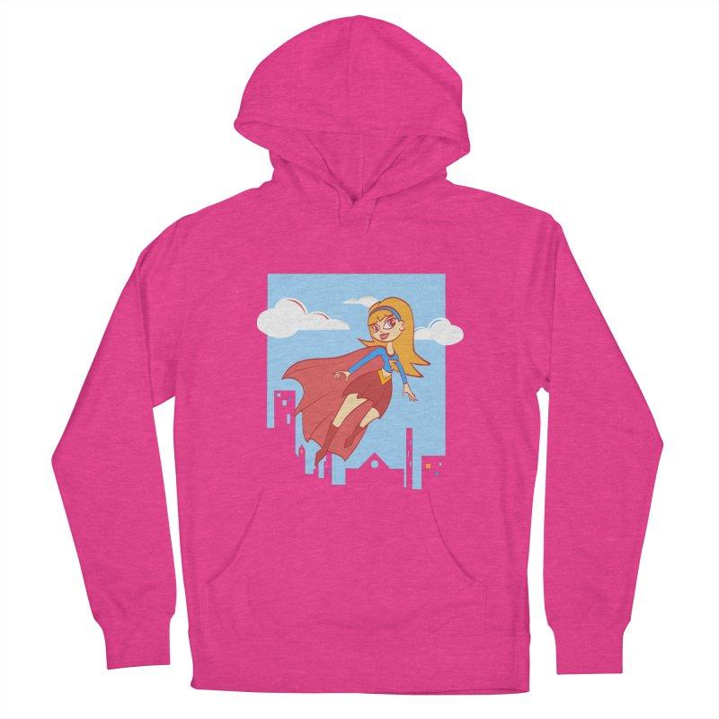Be a Super Girl Women's Pullover Hoody by doodleheaddee's Artist Shop