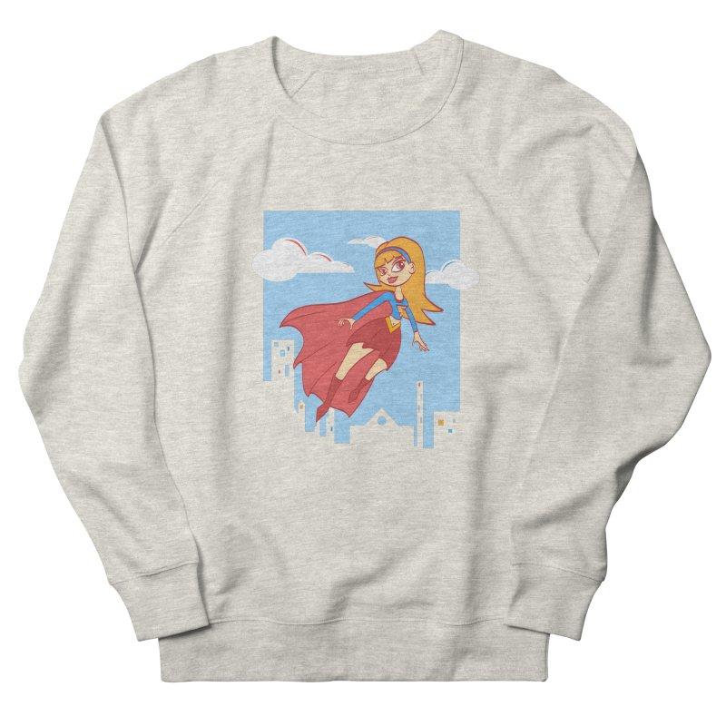 Be a Super Girl Women's Sweatshirt by doodleheaddee's Artist Shop