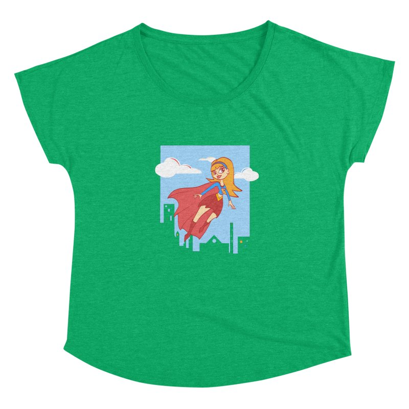 Be a Super Girl Women's Dolman by doodleheaddee's Artist Shop
