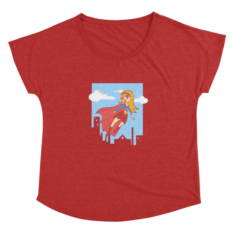 Be a Super Girl Women's Dolman by doodleheaddee's Artist Shop