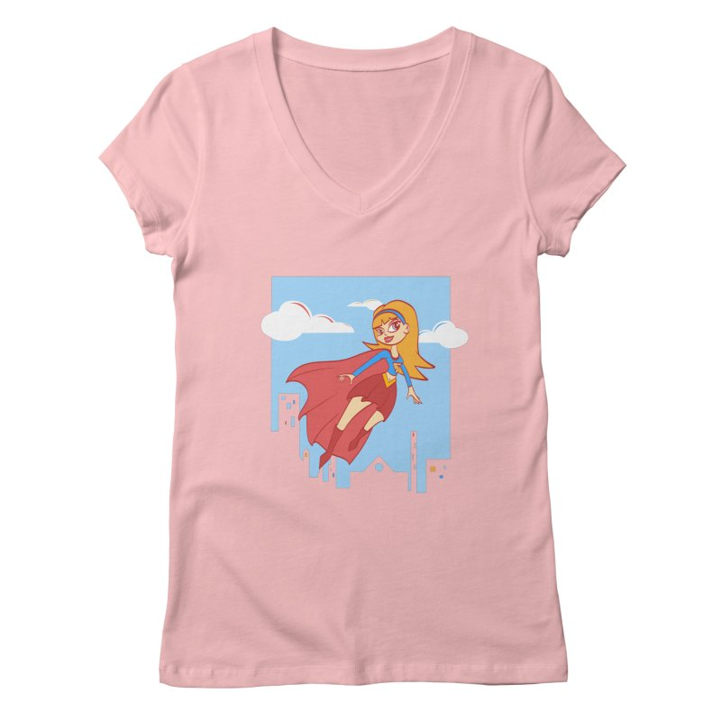 Be a Super Girl   by doodleheaddee's Artist Shop