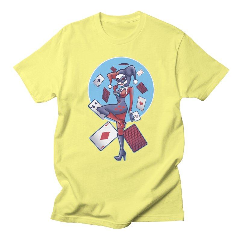 Harleys Card Game Men's T-shirt by doodleheaddee's Artist Shop