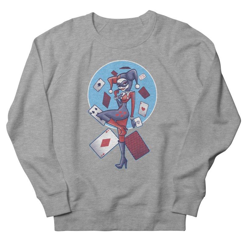 Harleys Card Game Women's Sweatshirt by doodleheaddee's Artist Shop