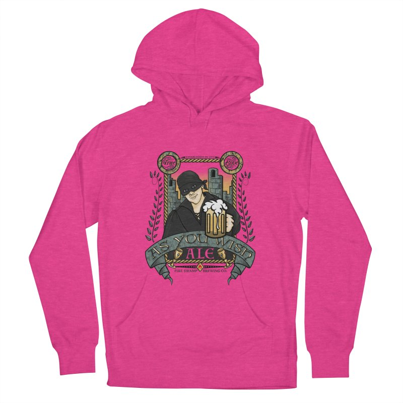 As You Wish Ale Men's French Terry Pullover Hoody by doodleheaddee's Artist Shop