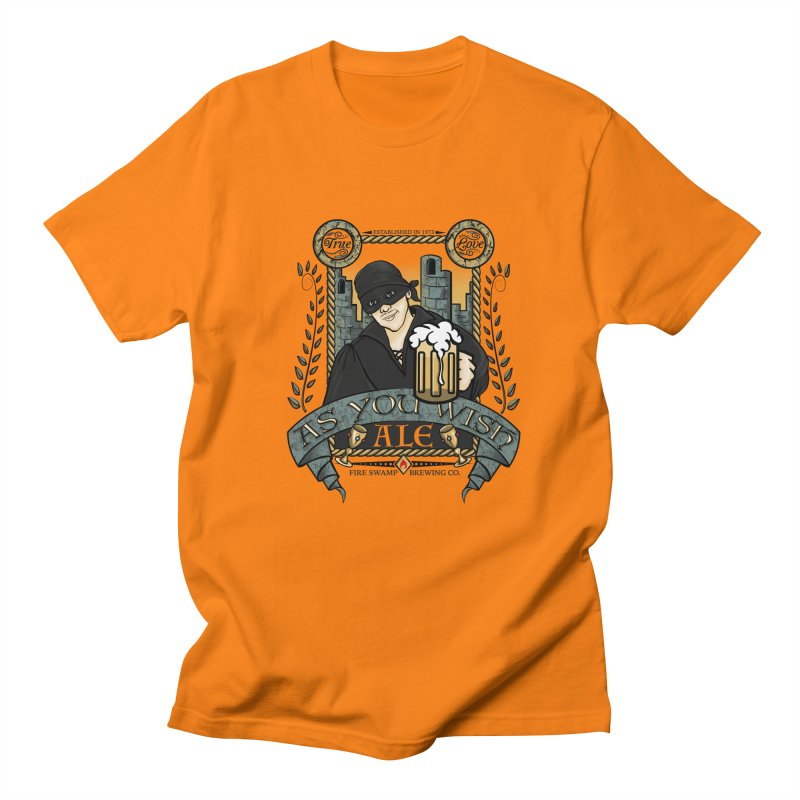 As You Wish Ale Men's Regular T-Shirt by doodleheaddee's Artist Shop