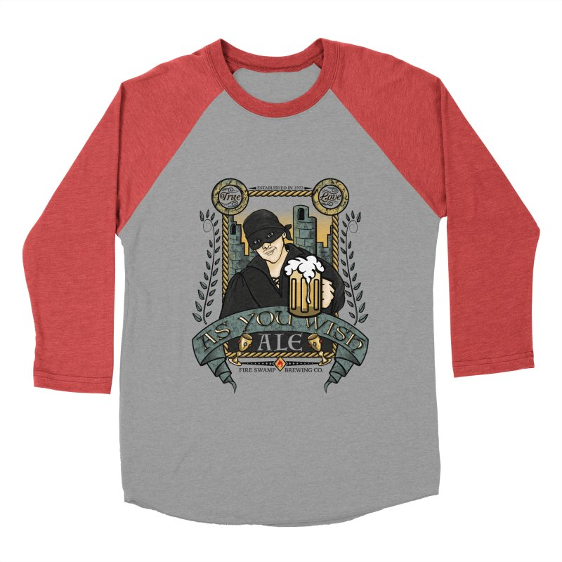 As You Wish Ale Women's Baseball Triblend Longsleeve T-Shirt by doodleheaddee's Artist Shop