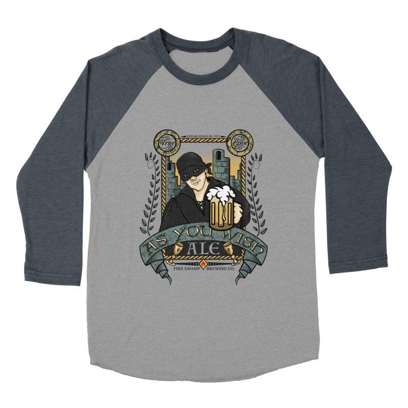 As You Wish Ale Men's Baseball Triblend T-Shirt by doodleheaddee's Artist Shop