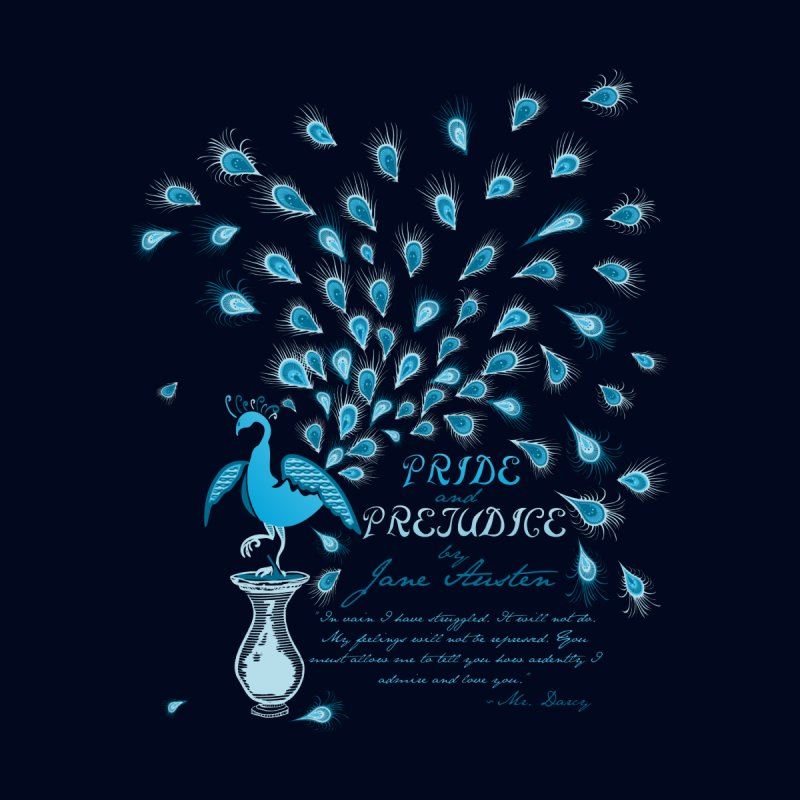 Paisley Peacock Pride and Prejudice None  by doodleheaddee's Artist Shop