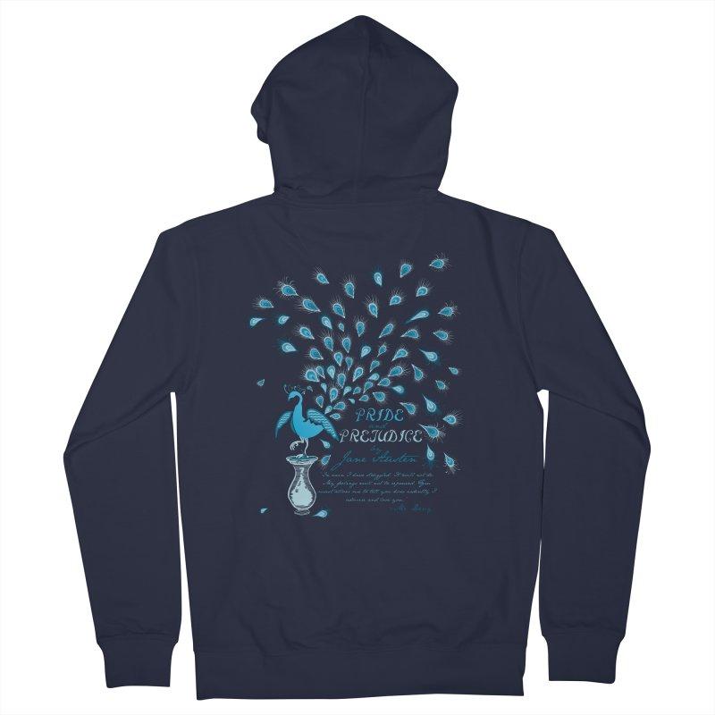 Paisley Peacock Pride and Prejudice Women's Zip-Up Hoody by doodleheaddee's Artist Shop