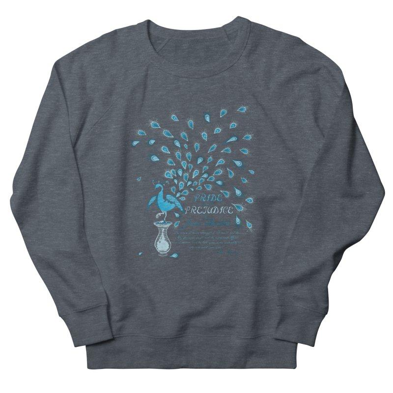 Paisley Peacock Pride and Prejudice Men's Sweatshirt by doodleheaddee's Artist Shop
