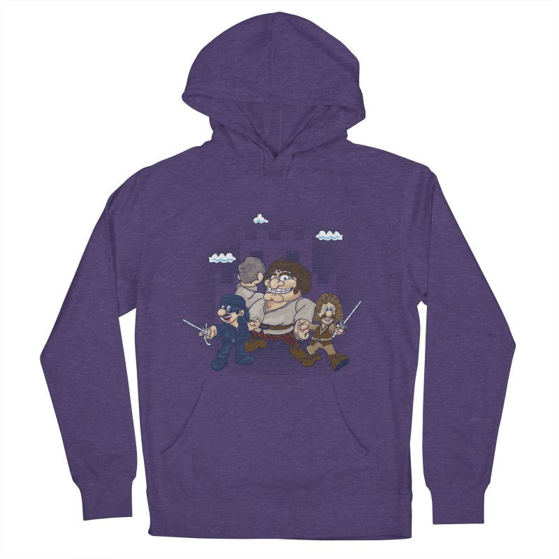 Have Fun Stormin' the Castle Men's French Terry Pullover Hoody by doodleheaddee's Artist Shop