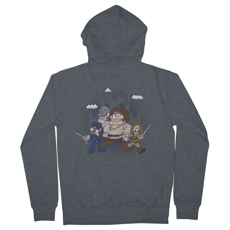 Have Fun Stormin' the Castle Men's French Terry Zip-Up Hoody by doodleheaddee's Artist Shop