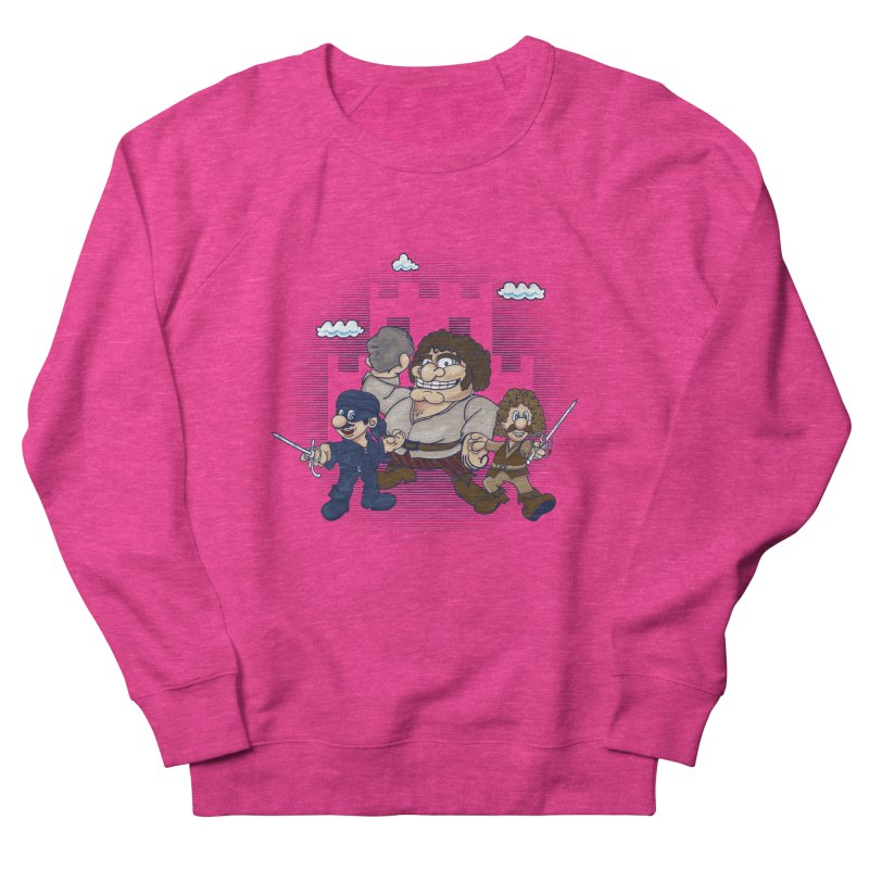 Have Fun Stormin' the Castle Men's French Terry Sweatshirt by doodleheaddee's Artist Shop