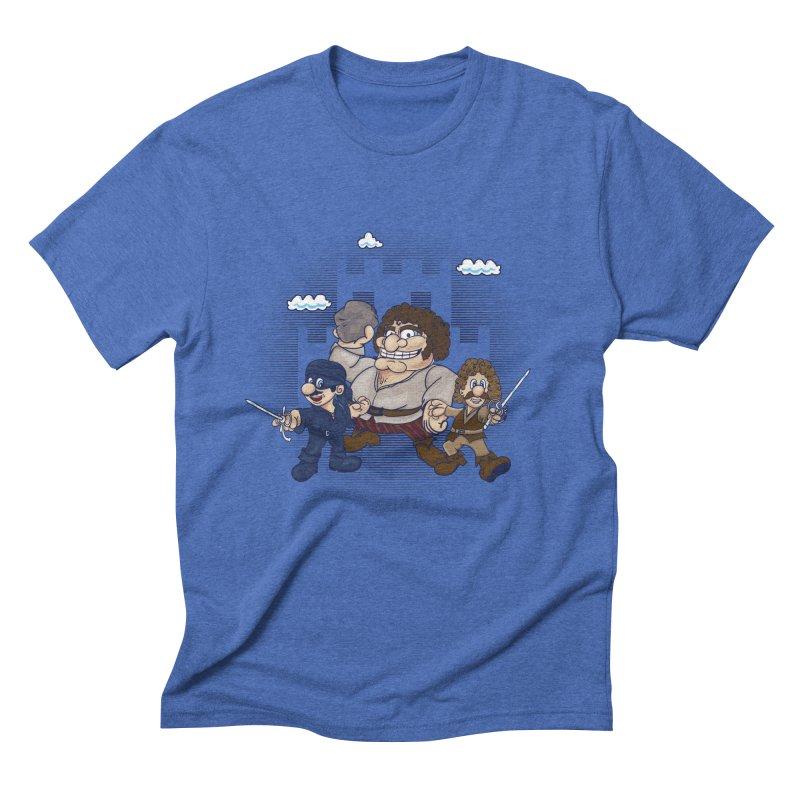 Have Fun Stormin' the Castle Men's Triblend T-Shirt by doodleheaddee's Artist Shop